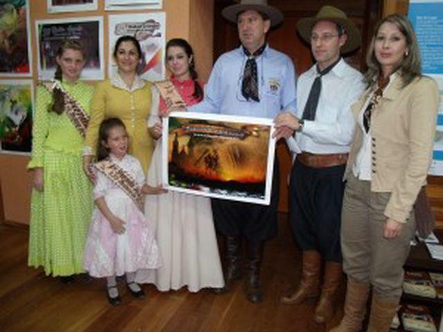 Vencedor do Concurso – Cartaz do 29º Rodeio Crioulo Internacional de Vacaria