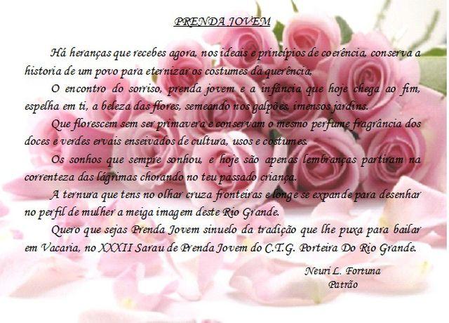 XXXII SARAU DA PRENDA JOVEM DATA: 17/11/2012