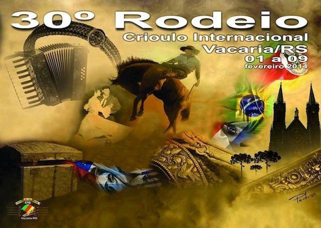 Rodeio Internacional de Vacaria terá gravação de dois DVDs