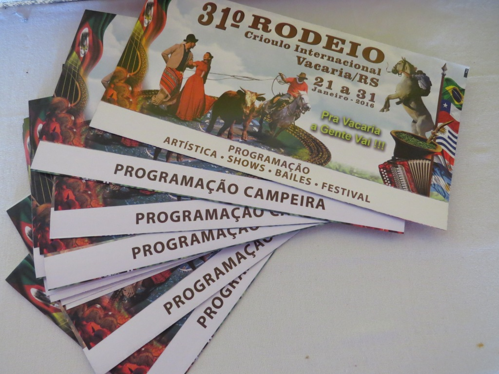Confira as informações do 31º Rodeio no site oficial do evento