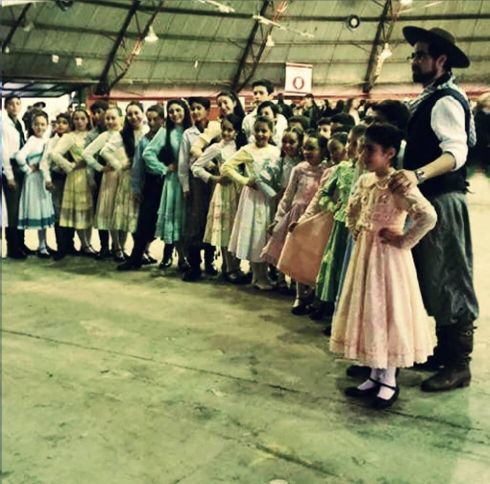 CTG Porteira do Rio grande participa com sucesso do Rodeio de Chapecó