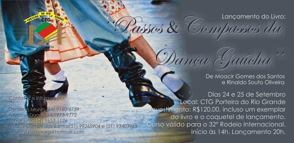 CTG Porteira do Rio Grande realiza curso de danças tradicionais