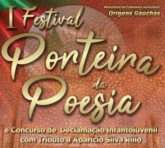 CONHECIDOS DECLAMADORES DO I FESTIVAL PORTEIRA DA POESIA